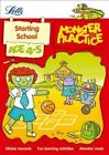 Letts Monster Practice: Starting School Age 4-5 by Becky Hempstock, Carol Medcalf, Letts Monster Practice (Paperback, 2014)
