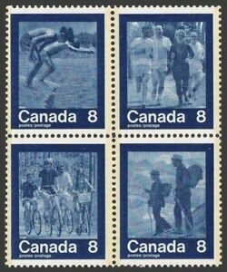 Canada 629-632a,MNH.Michel 551-554. Olympics Montreal-1976.Diving,Joggers,Hikers
