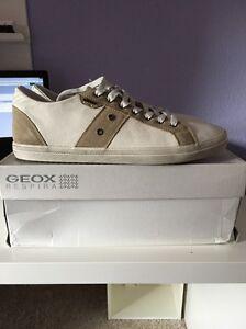 Geox U SMART D herrensneaker Weis pelle u52x2d GR selezionabile NUOVO IN SCATOLA