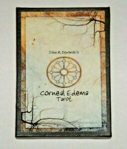 Corneal-Edema-Tarot-John-Dybowski-VERY-RARE-22-Card-Deck-OOP-Ltd-Ed-MINT