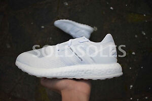 55ad8dbdd Image is loading Adidas-Y-3-Pure-Boost-ZG-Crystal-White