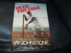 Over-the-Edge-Book-Autographed-by-Jay-Johnstone-JSA-Auc-Certified