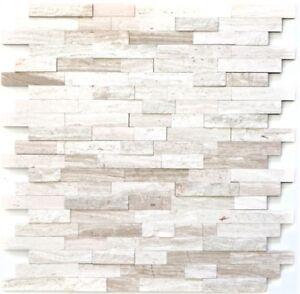 Selbstklebende mosaik st bchen creamweiss k chenr ckwand holzoptik wb200 0120 ebay - Kuchenruckwand holzoptik ...