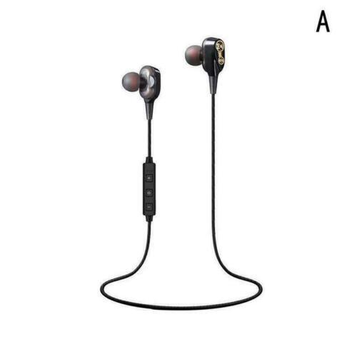 Doppel Lautsprecher Drahtlose Bluetooth Kopfhörer Kopfhörer Hohe V4.2 Sport S8C4