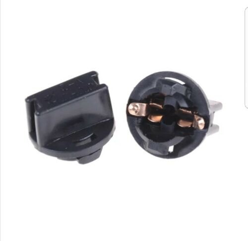 5X T10 W5W LED Bulb Car Instrument Panel Cluster Dash Light Twist Lock Socket
