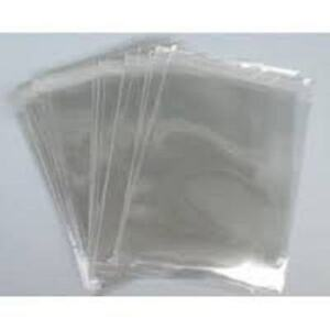 "1000 x Polythene Bag Clear (10""x12"")(200g) DISPOSABLE POLY  FOOD BAG (9221)"