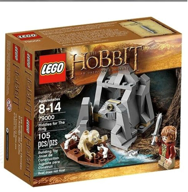 NEW IN SEALED BOX - LEGO The Hobbit: Riddles For The Ring - 79000 105 pieces5702