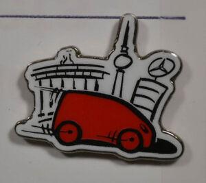 HüBsch Und Bunt an2586 Mercedes A Klasse Pin Badge 2,5 X 2,5 Cm
