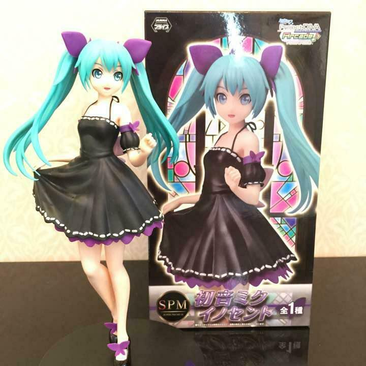VOCALOID HATSUNE MIKU SPM FIGURE INNOCENT SEGA Collection Akiba Otaku doll