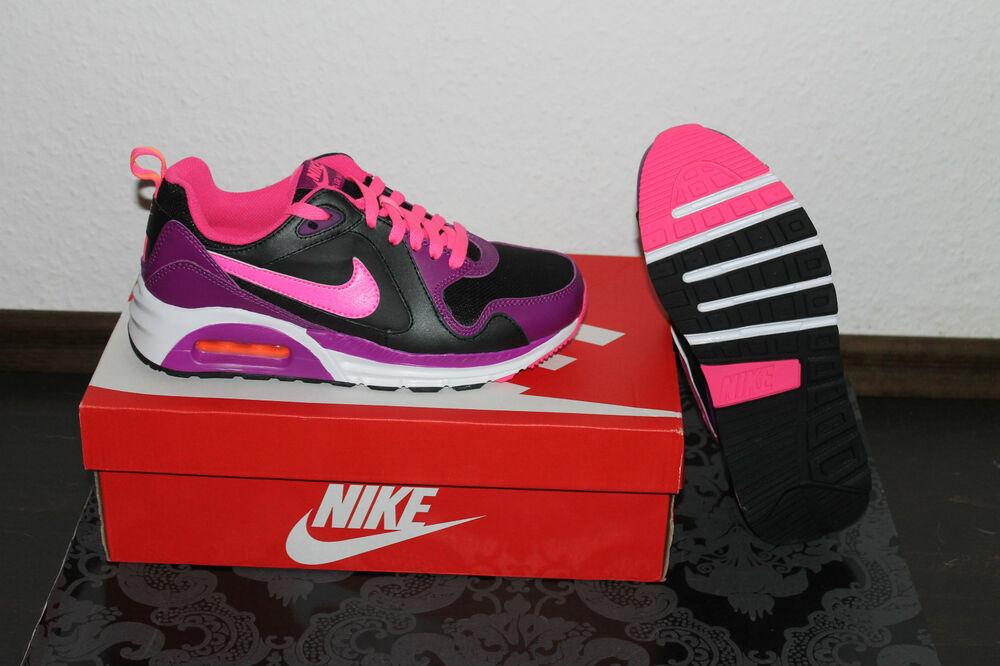 Nike Air Max Trax NOIRE RUNNING POUR FEMMES CHAUSSURE NOIRE Trax ROSE / lilas taille 38 ou Chaussures de sport pour hommes et femmes 1dd9a3