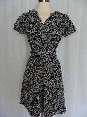 Ann Taylor Loft, Career Multi-Color Flower Short Sleeve Mini Dress, SZ XS