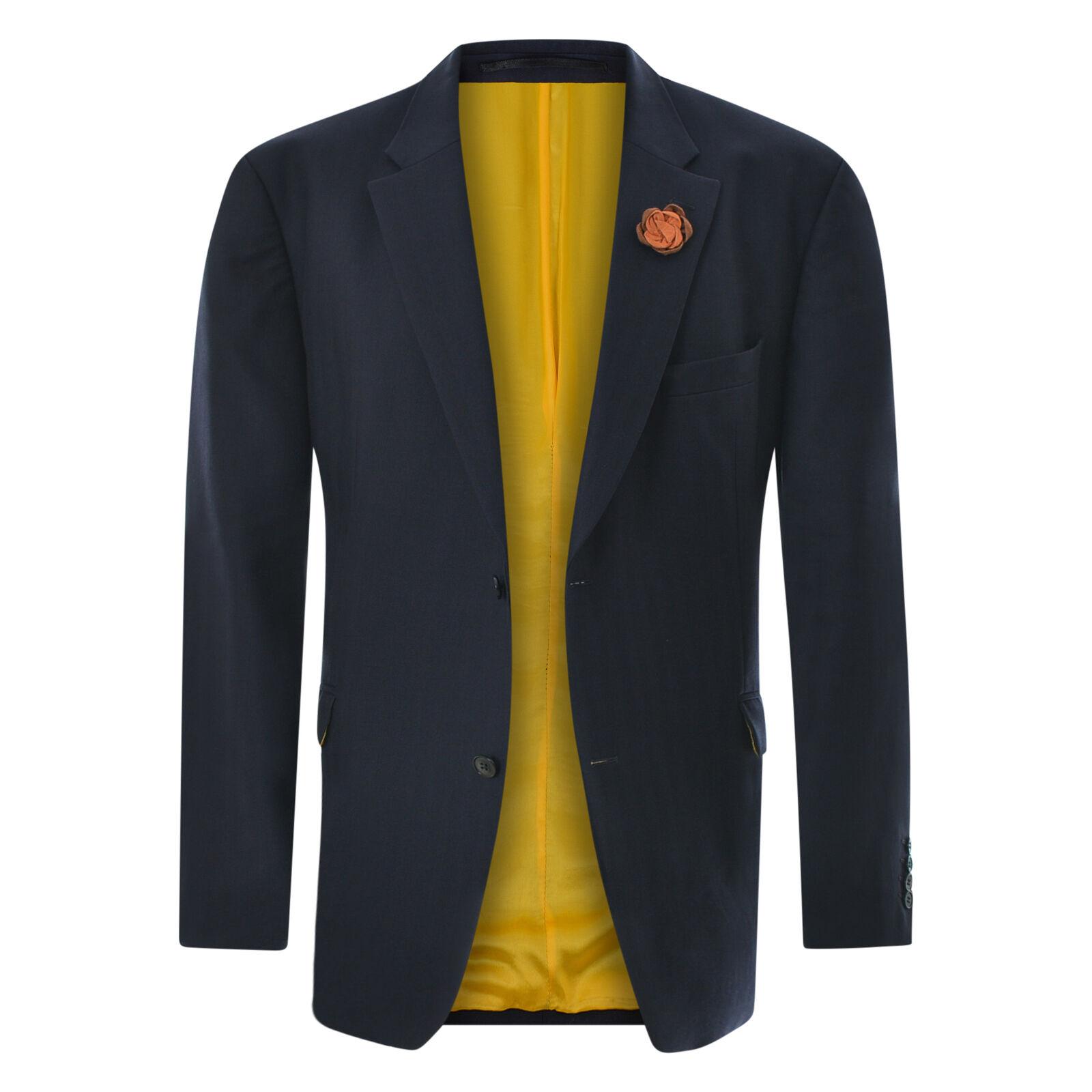 458adc9ba LEONARD JAY OF LONDON by Men's Blazer Size 50R bluee Wool Authentic ...