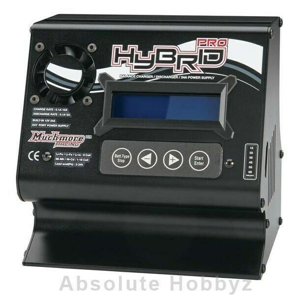 Muchmore Hybrid Pro AC DC Balance Charger (svart)- MMHBPK