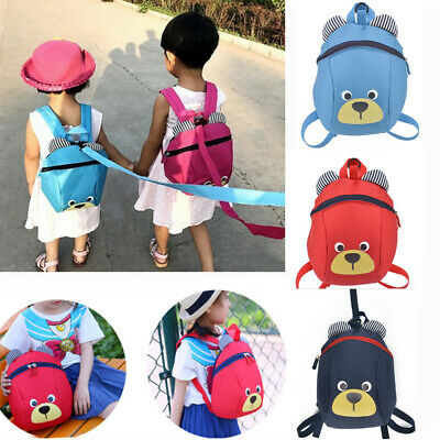 Children Kids Unicorn Strap Baby Bag Safety Harness Reins Toddler Backpack Gifts