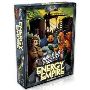 The Manhattan Project Energy Empire Board Game