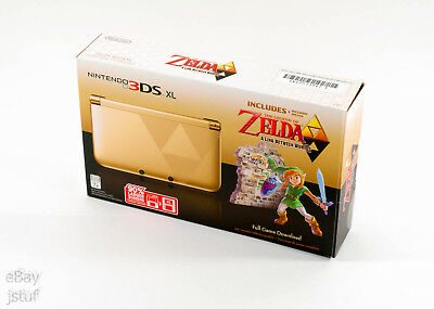 Nintendo 3DS XL Zelda (A Link Between Worlds) Limited Console System *NEW IN BOX