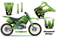 Kawasaki Kx 125/250 Graphic Kit Amr Racing Plates Decal Sticker Part 92-93 Dpg