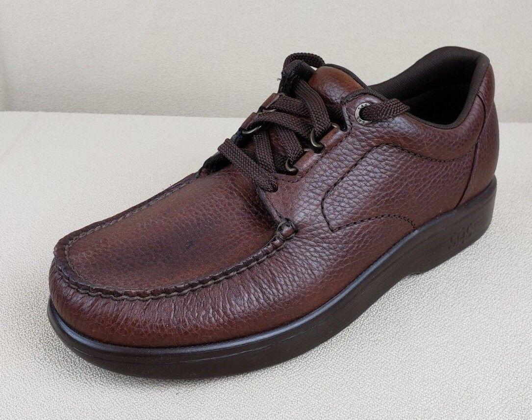Men's SAS  Bout Time  Comfort shoes - Brown - Diabetic, Support Walking 8.5 Slim