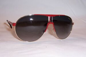 NEW Carrera Sunglasses 1005 S AU2-9O RED GOLD GRAY AUTHENTIC  6cf49caa1af