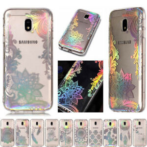 Slim-Case-Laser-Bling-Plating-TPU-Soft-Silicone-Cover-For-Samsung-Various-Phones