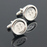 Classic Men Buttons Cufflinks Dress Shirt Suit Jewelry Wedding Gift Cuff links
