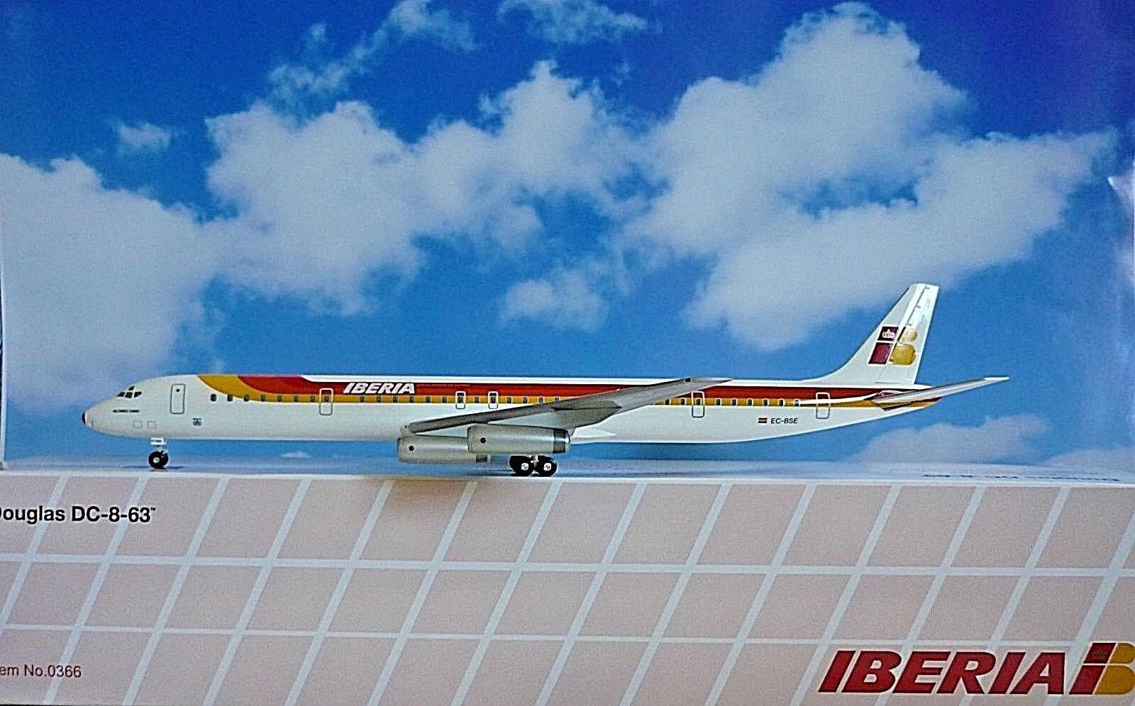 Hogan Wings 1 200 Douglas DC-8-63 Iberia Ec-Bse LI0366+ Herpa Wings Catalogue