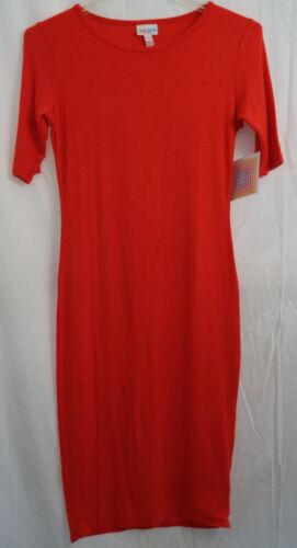 Colore solido In Xxs Nwt Julia Orange Dress Lularoe Blood xEwqW0CHnY