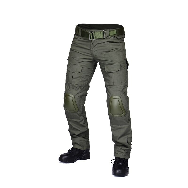Military  Airsoft Hunting BDU Pants Combat Gen2 Tactical Pants with Knee Pads -GE  2018 latest