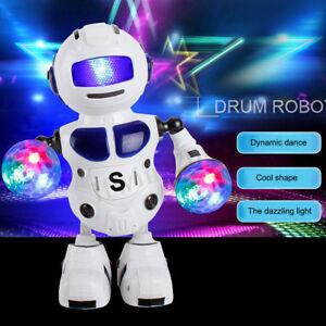 Enfant-Robot-Jouet-Lumiere-Musique-Interactif-Dansant-Marchant-Cadeau-de-Noel