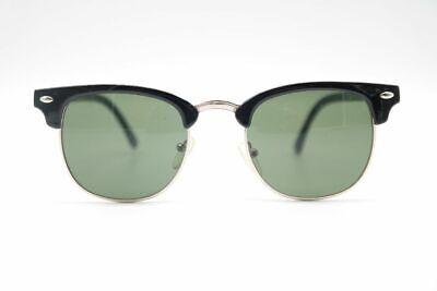 Attivo Modern 002-51099 48 [] 18 Nero Argento Ovale Occhiali Da Sole Sunglasses Nuovo-mostra Il Titolo Originale