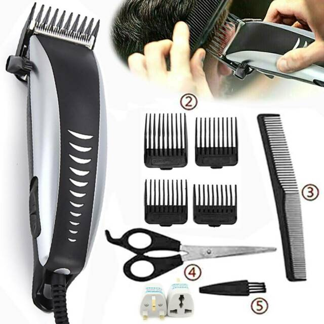 Professional Hair Clippers Men's Basic Barber Set Mains Trimmer Shaver Cutter A
