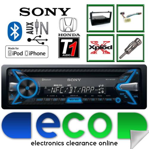 Honda Civic EP1 Sony CD MP3 USB Bluetooth iPhone Car Stereo BLACK Fitting Kit