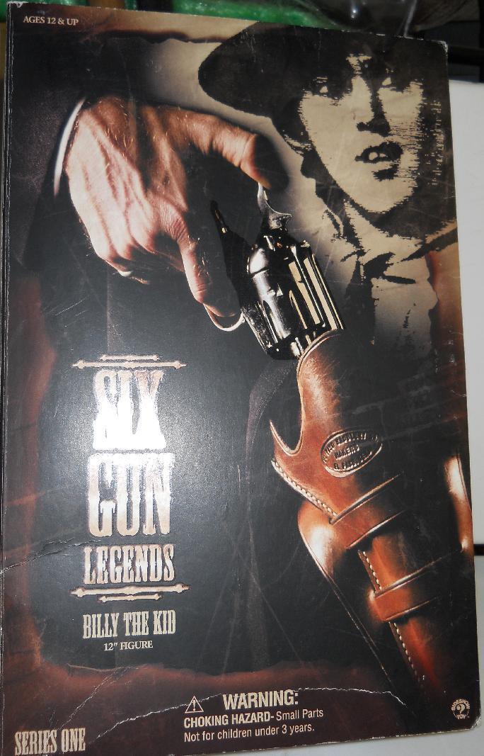 1 6 Sideshow Toys Six Gun Legends Billie the KId MIB WIlliam Bonny
