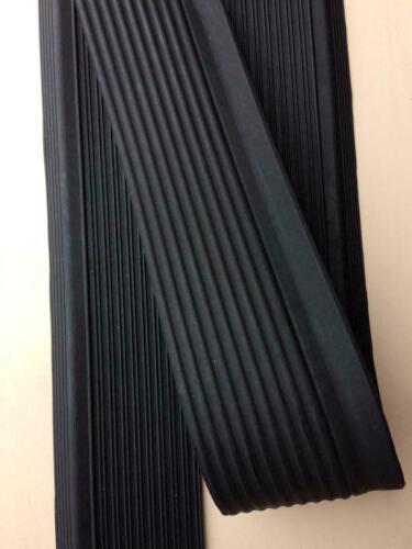 SLC Pair Rubber Door Sill Mats Protection Mercedes-Benz R//C W107 SL BLACK NEW
