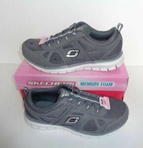 New Skechers Ladies Memory Foam Grey