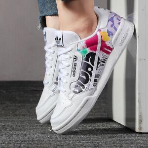 adidas Originals Continental 80 Junior Trainers Boys Girls White ...