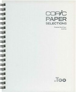New-Too-Copic-Paper-Selection-Sketch-Book-S-size-from-Japan