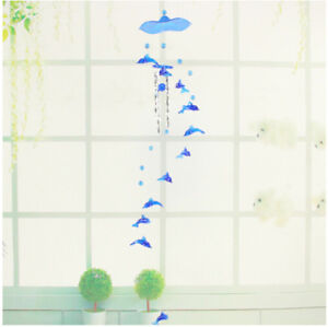 Multicolor-Hummingbird-Dolphin-Wind-Chime-Bells-House-Window-Hanging-Decoration