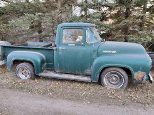 56 Mercury 1/2 ton truck