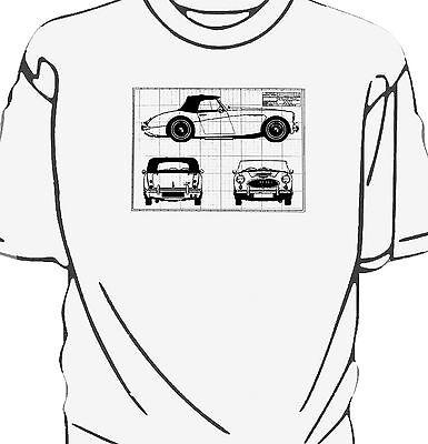 /'Rusty Nuts Garage Services/' sweatshirt Austin Healey Frogeye Sprite