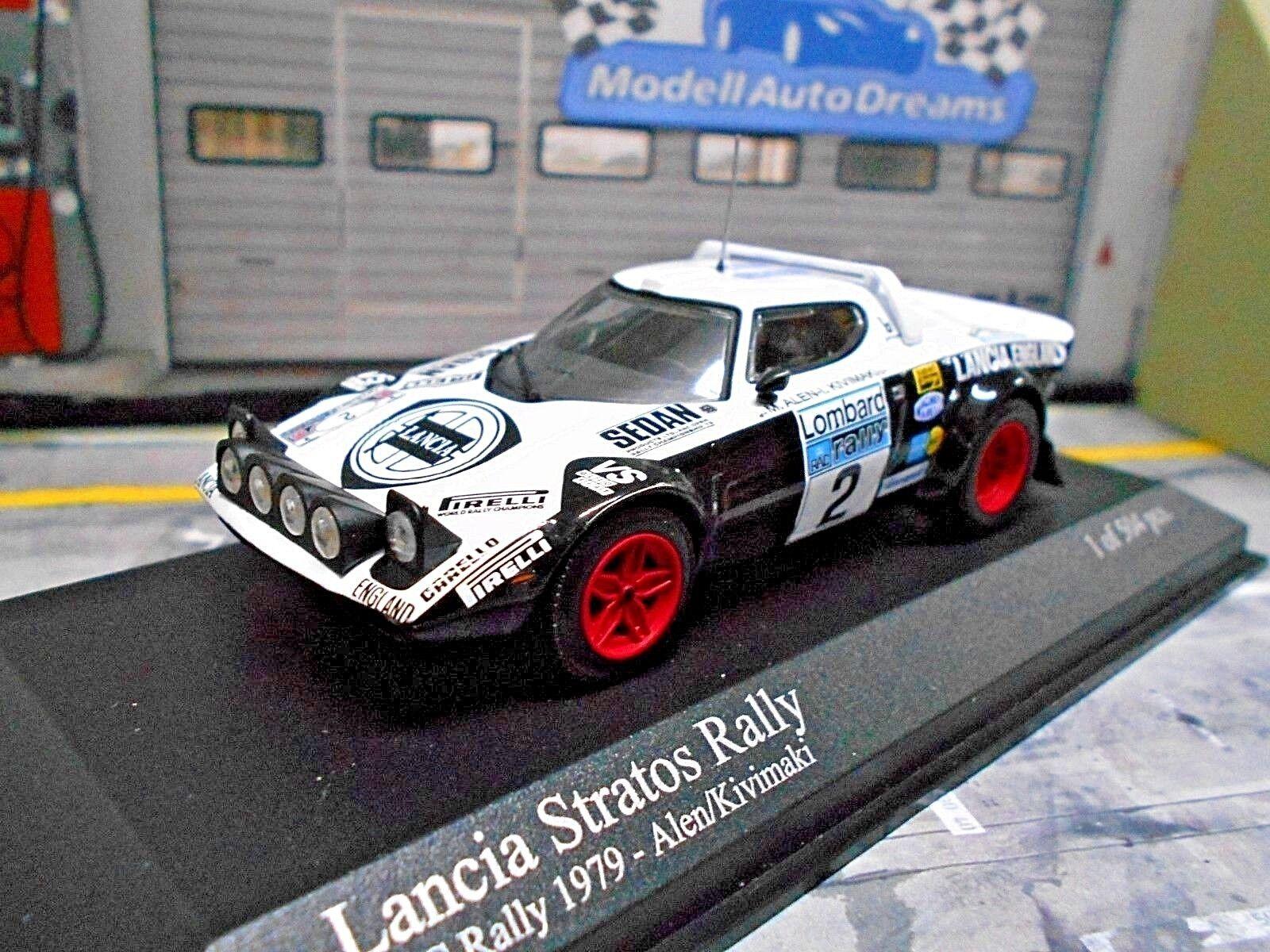 LANCIA Stratos HF Rally RAC WM 1979  2 Alen GB Inghilterra Minichamps 1 43