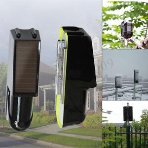 NEW-2-Beam-Solar-Photoelectric-Wireless-Infrared-Detector-Sensor-Alarm-Security
