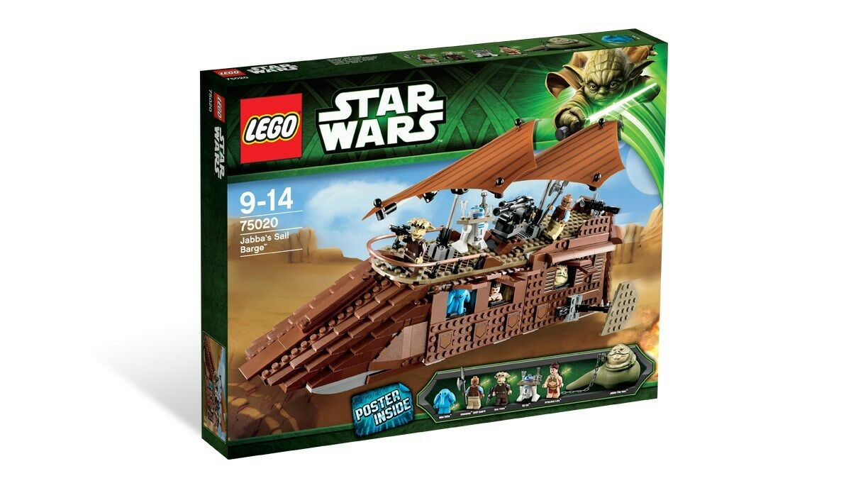 75020 JABBA'S SAIL BARGE star wars lego legos set SEALED return of the jedi redj