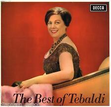 Renata Tebaldi: The Best Of Tebaldi - LP Decca LXT 6030