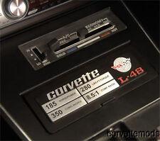 C3 Corvette Data Spec Plates 1977-1982