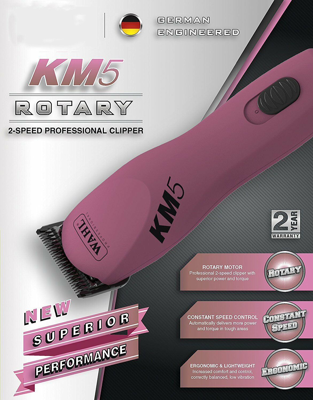 Wahl KM5 SUPER DUTY Rosa Clipper KIT&ULTIMATE 10 30 Blade&8 Blade&8 Blade&8 ATTACHMENT COMB SET 308cf5