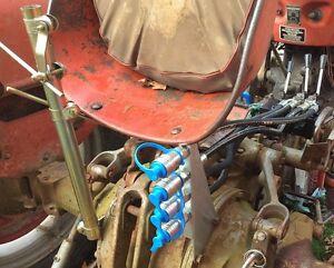 how to add hydraulic remotes to a tractor
