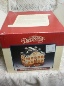 1993 Lemax OLD WORLD VILLAGE DICKENSVALE LIGHTED  BLDG.  G.W. Pruden & Co. boxed