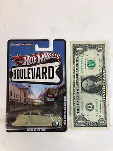 Hot Wheels Boulevard - RR - Metal/Metal - Cream 1934 ...