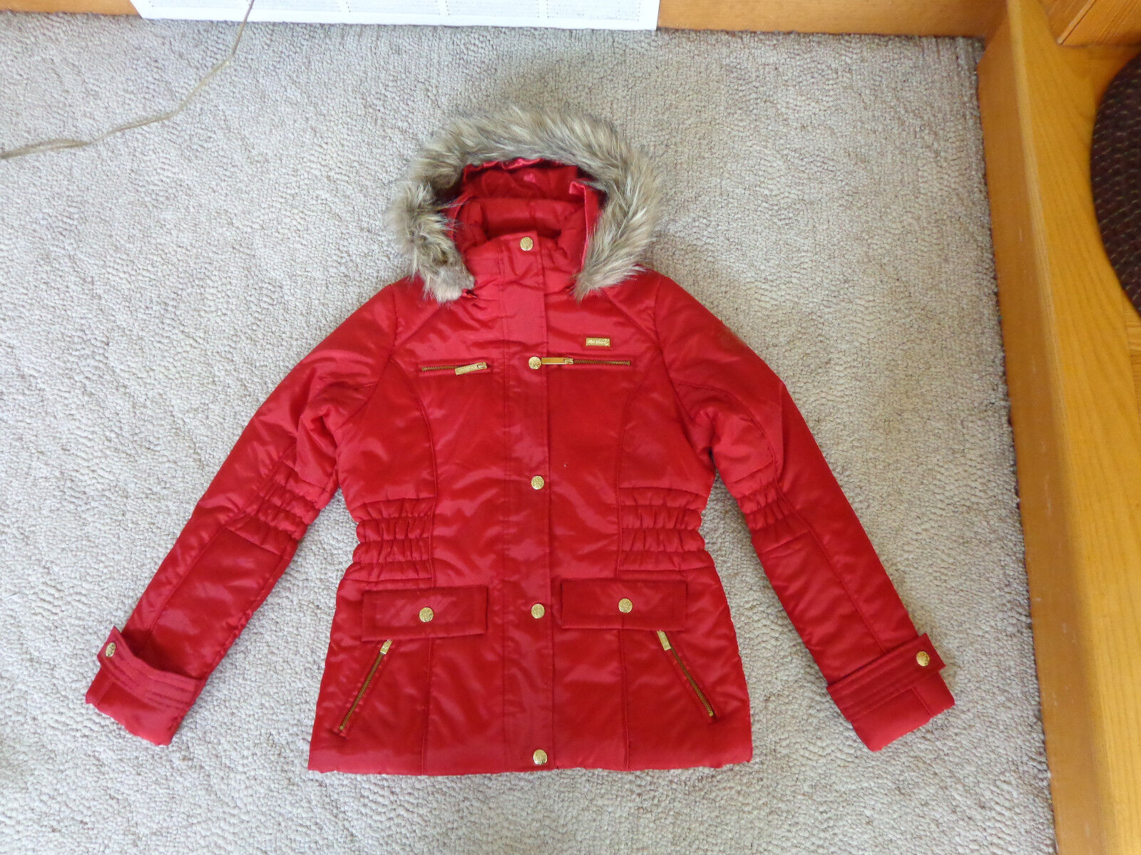 Apple Bottom Girls's ROT Coat